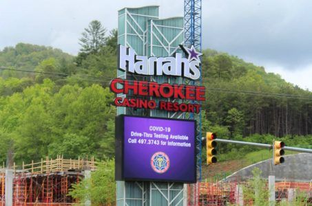 Harrah's Cherokee coronavirus COVID-19