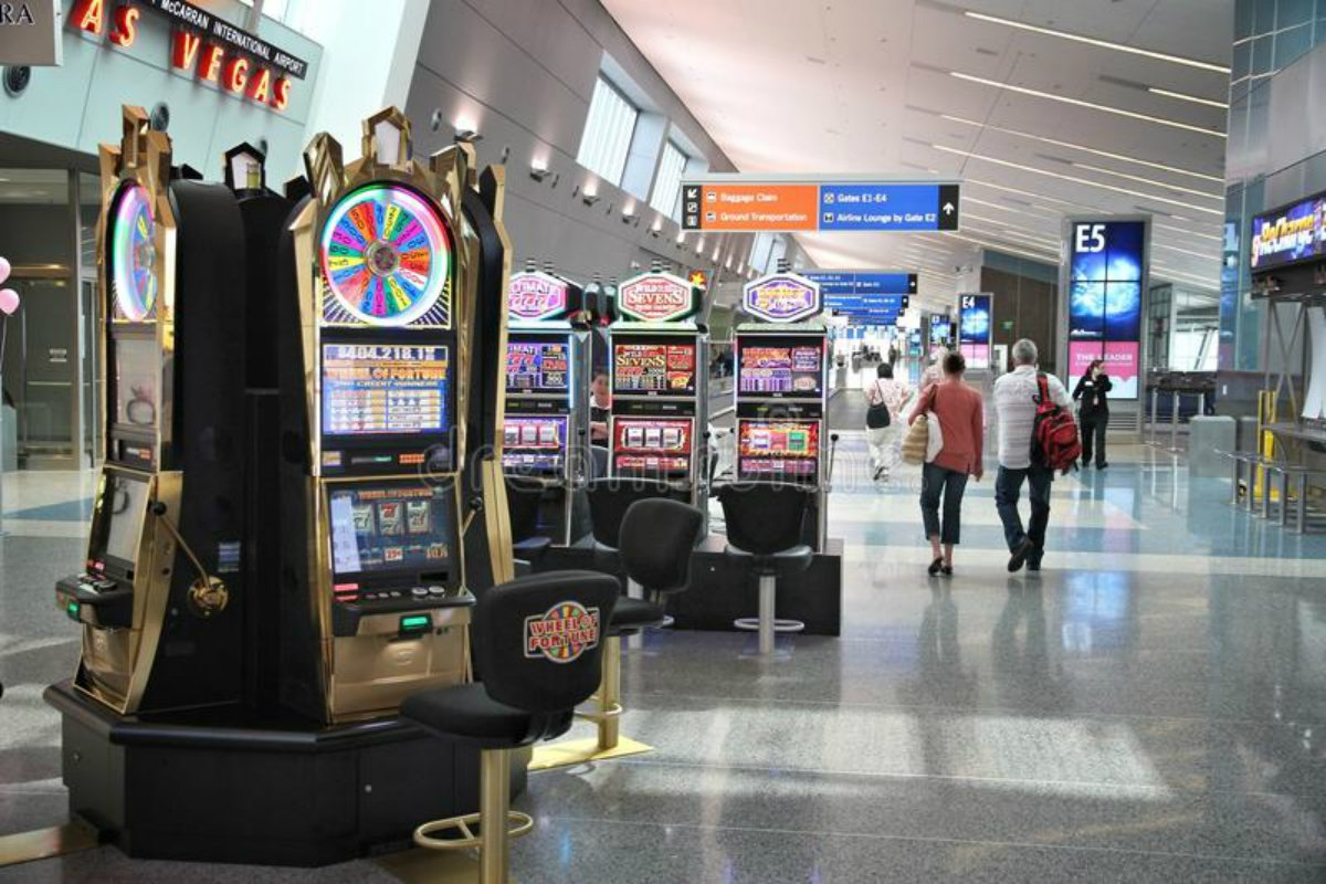 McCarran International Las Vegas airport jackpot