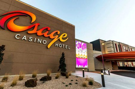 Osage Nation casino Oklahoma tribe