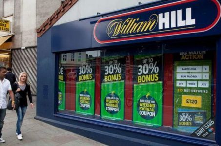 William Hill sports betting bookmaker