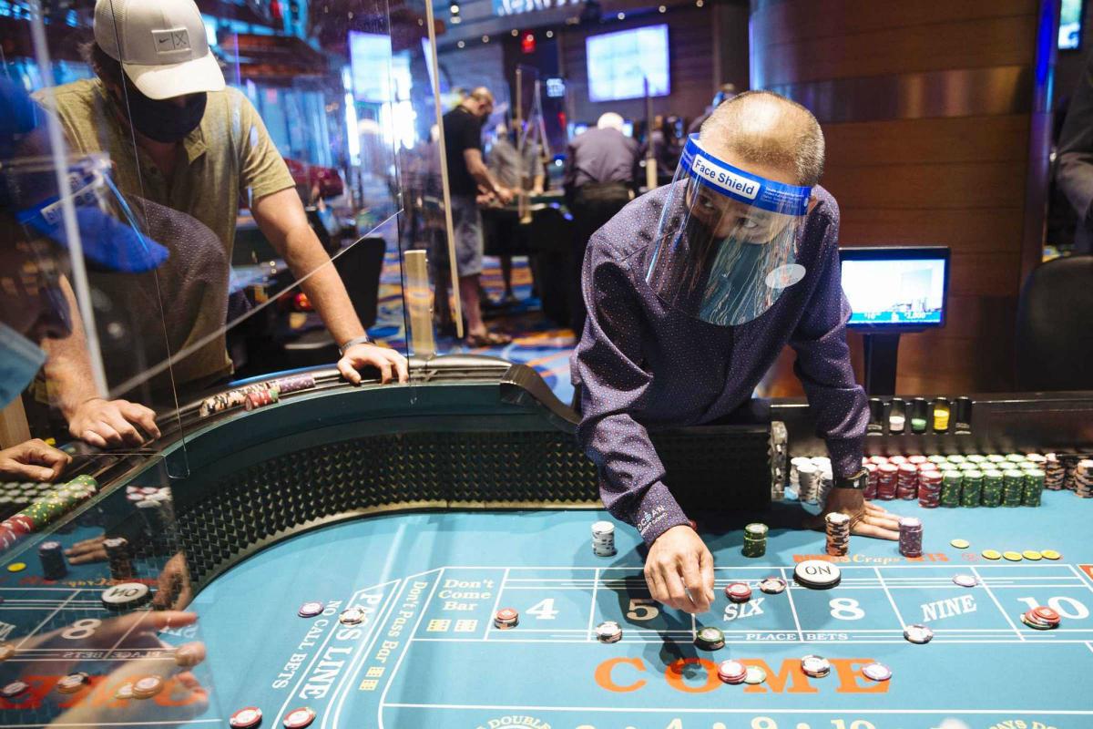 Atlantic City casinos coronavirus relief