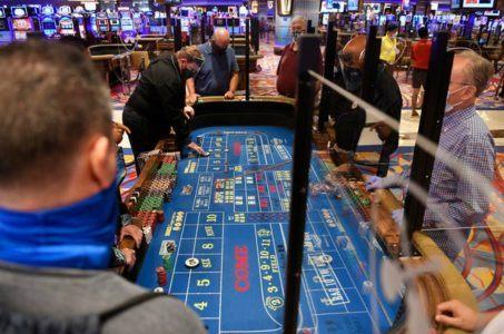 Atlantic City casinos GGR