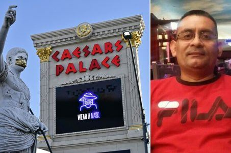 Caesars Palace employee recalled