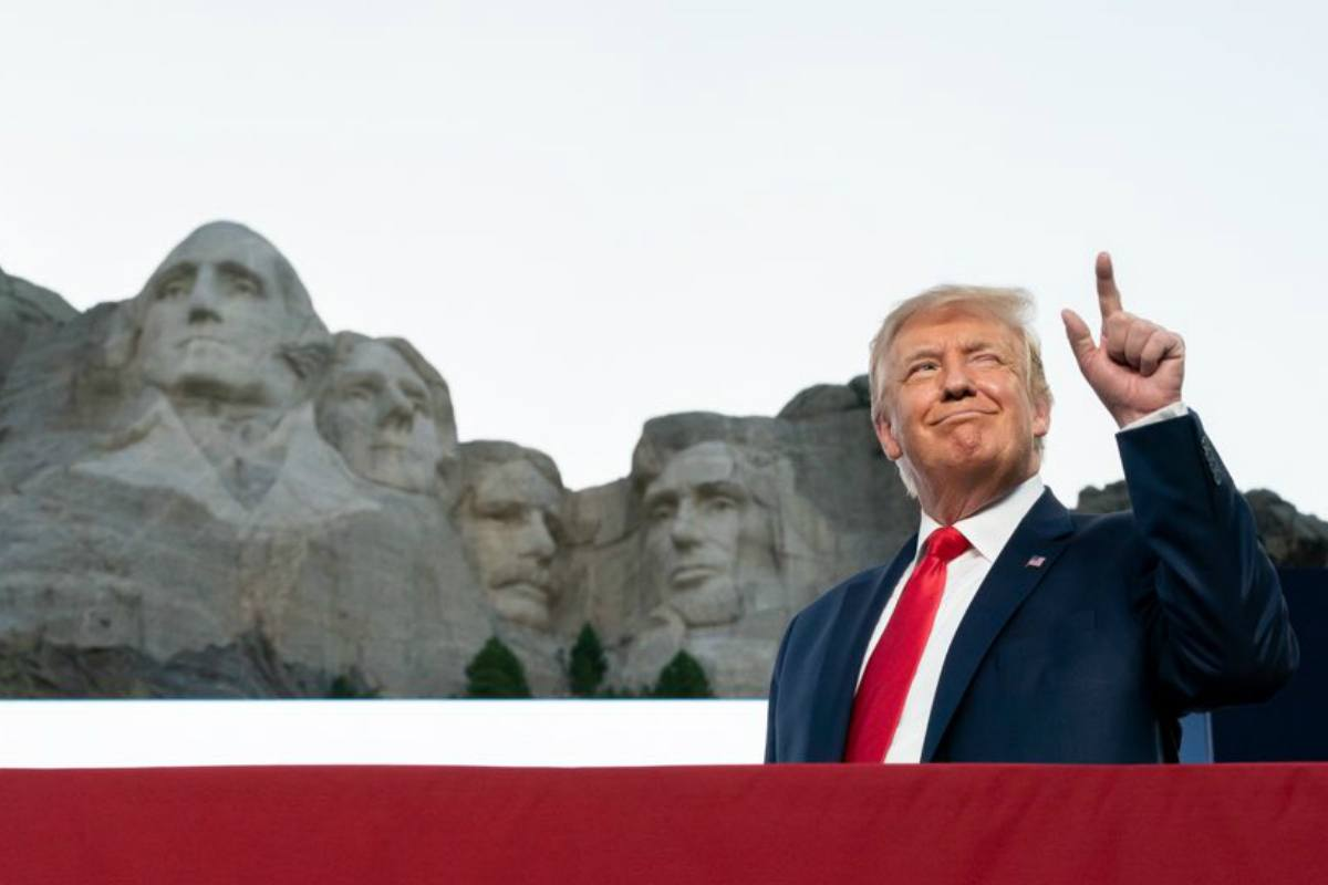 Donald Trump Mount Rushmore odds
