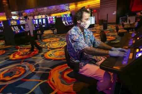 casino revenue GGR AGA coronavirus