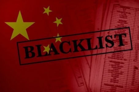 China casino blacklist Philippines