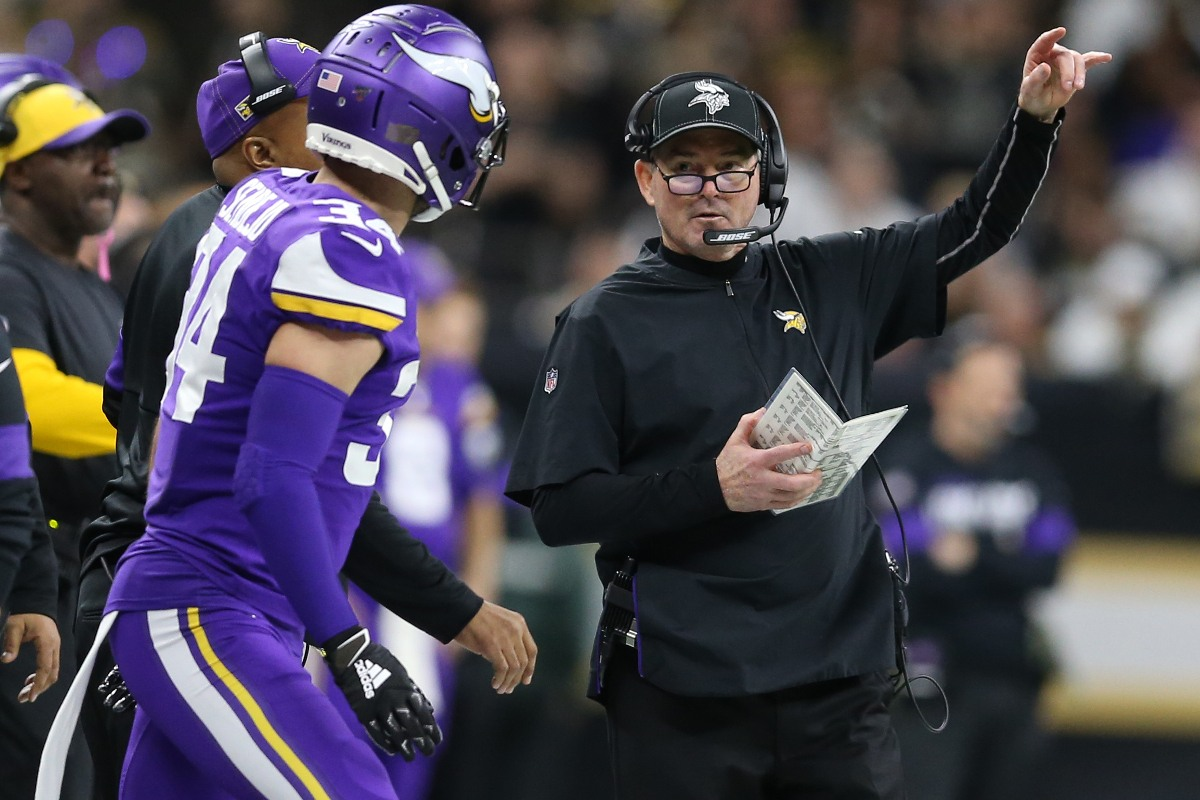 Vikings coach Mike Zimmer NFL Preview