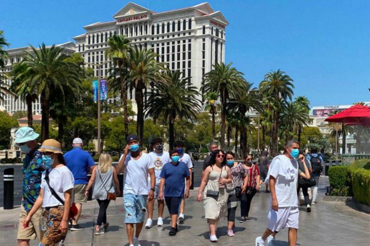 Las Vegas casinos gaming revenue