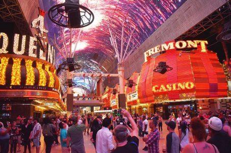 Fremont Street Experience downtown Las Vegas
