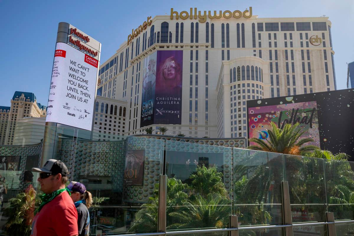 Las Vegas Strip COVID-19 impact