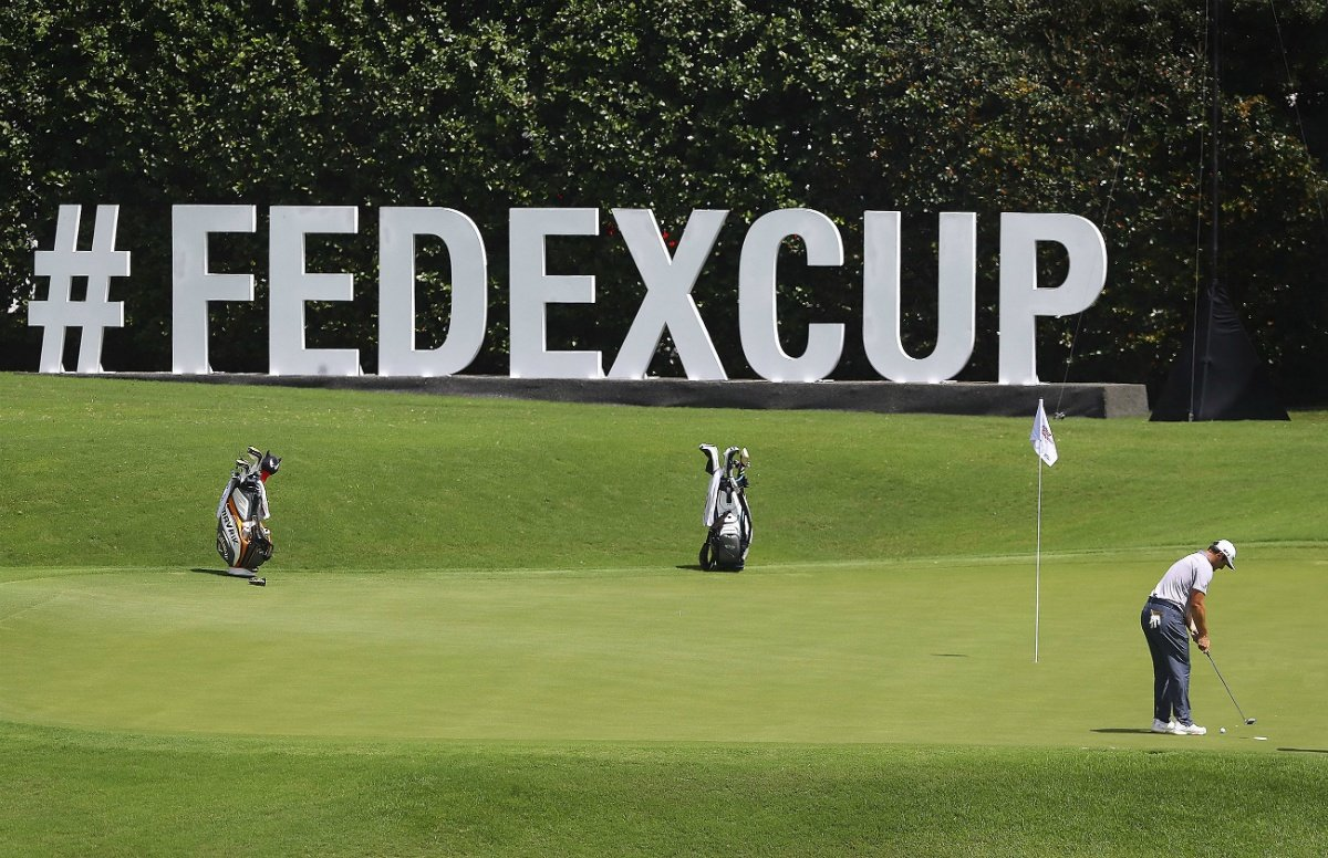 Dustin Johnson golf odds FedEx Cup