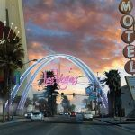Las Vegas Gateway to Downtown Casino District Set for November Lighting