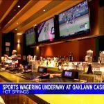 Sports Wagering Soars at Arkansas Oaklawn Resort