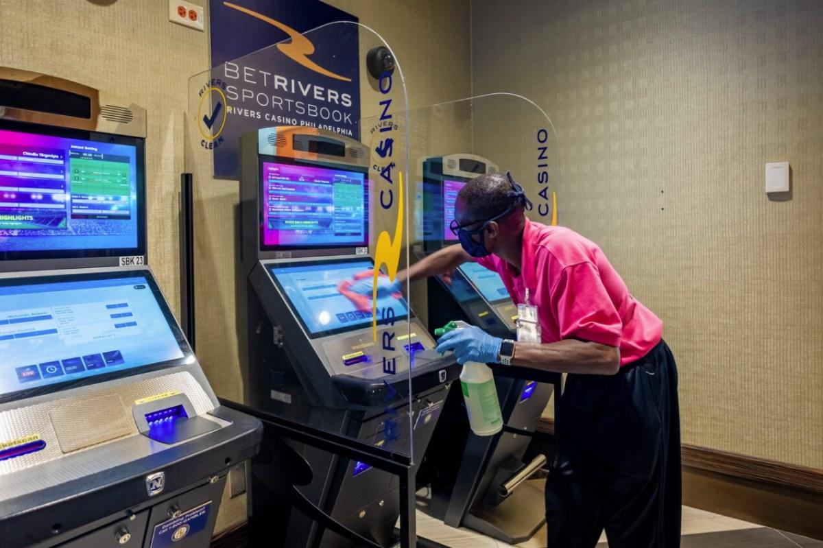 Pennsylvania casinos revenue GGR