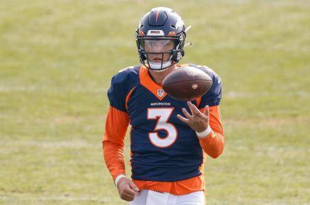 Denver Broncos quarterback Drew Lock.