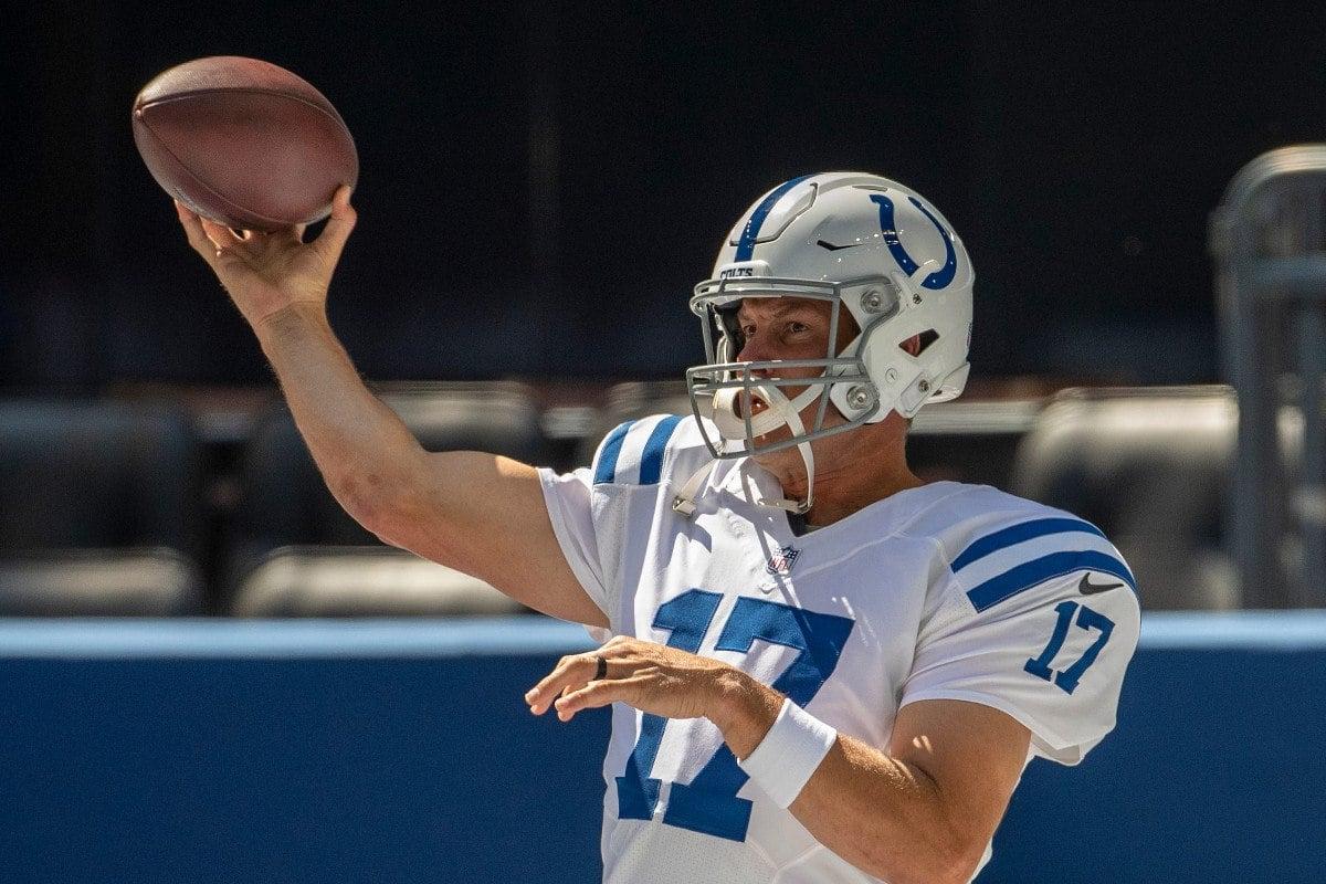 Indianapolis Colts QB Philip Rivers