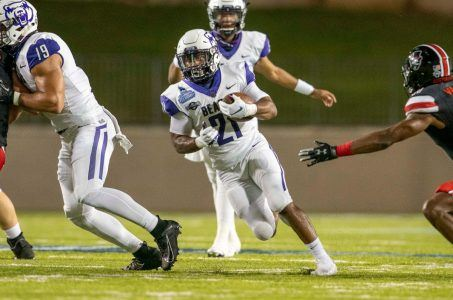 Central Arkansas running back Kierre Crossley