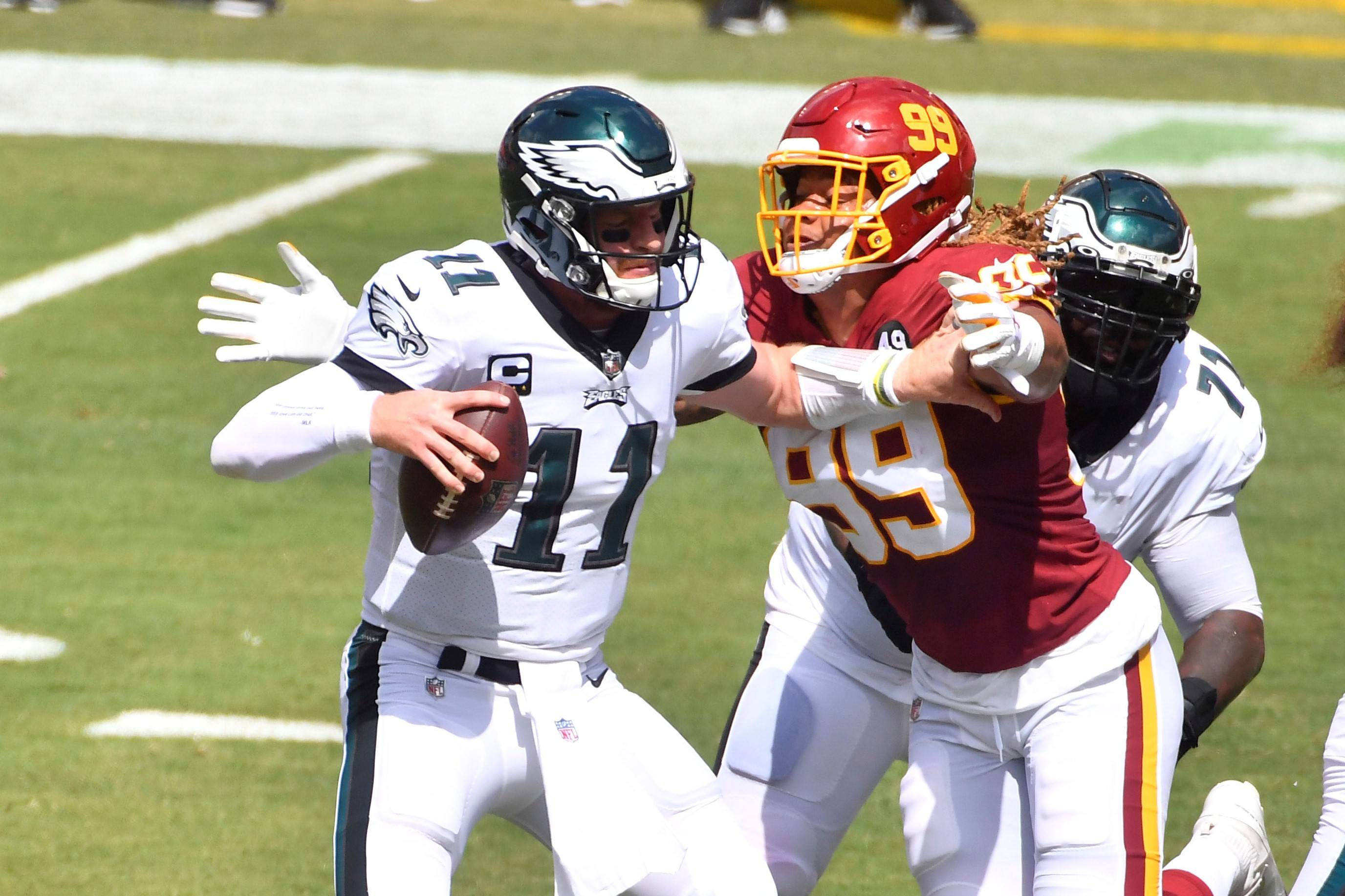 Philadelphia Eagles Carson Wentz