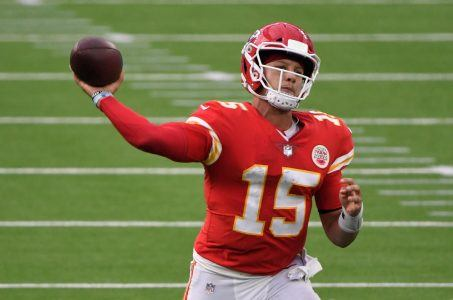 Kansas City Chiefs QB Patrick Mahomes