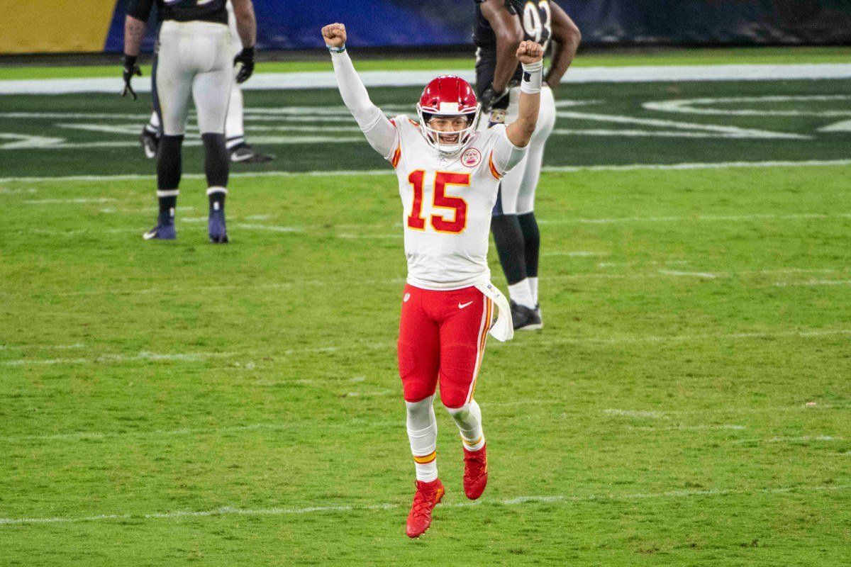 Kansas City Chiefs quarterback Patrick Mahomes