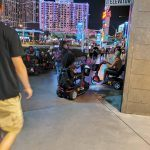 Las Vegas Strip Threatened by Misuse of Mobility Scooters