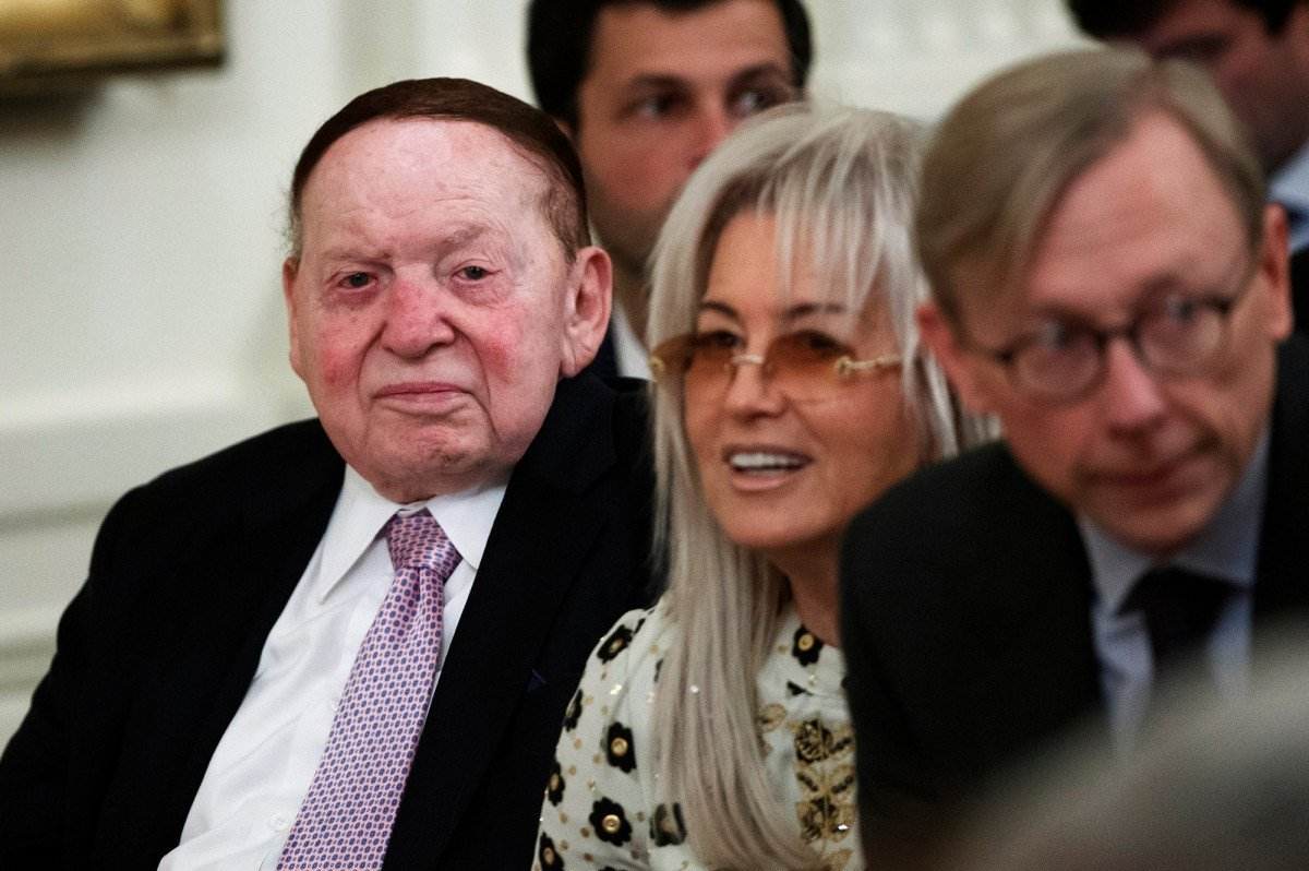 Las Vegas casino billionaire Sheldon Adelson