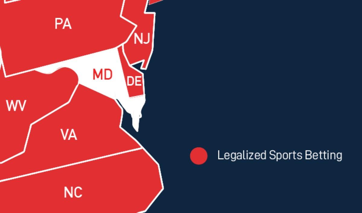 Maryland sports betting DraftKings FanDuel
