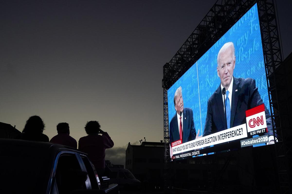 debate 2020 odds Trump Biden