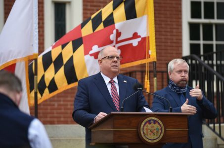 Maryland sports betting referendum Hogan