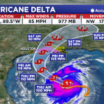 Louisiana Casinos Close as Hurricane Delta Targets the Pelican State
