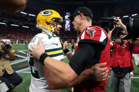 Aaron Rodgers and Matt Ryan