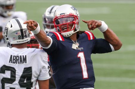Patriots Cam Newton