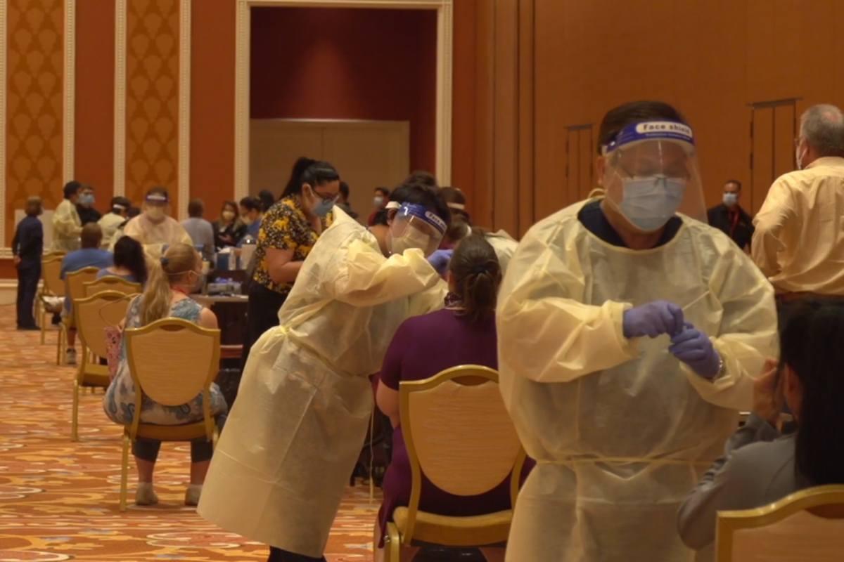 Wynn Resorts Las Vegas coronavirus
