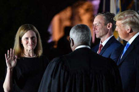 Amy Coney Barrett Supreme Court odds