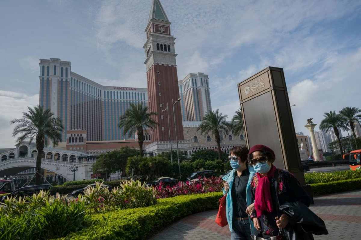 Macau casino revenue GGR China