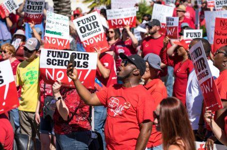 Las Vegas teacher union gaming tax