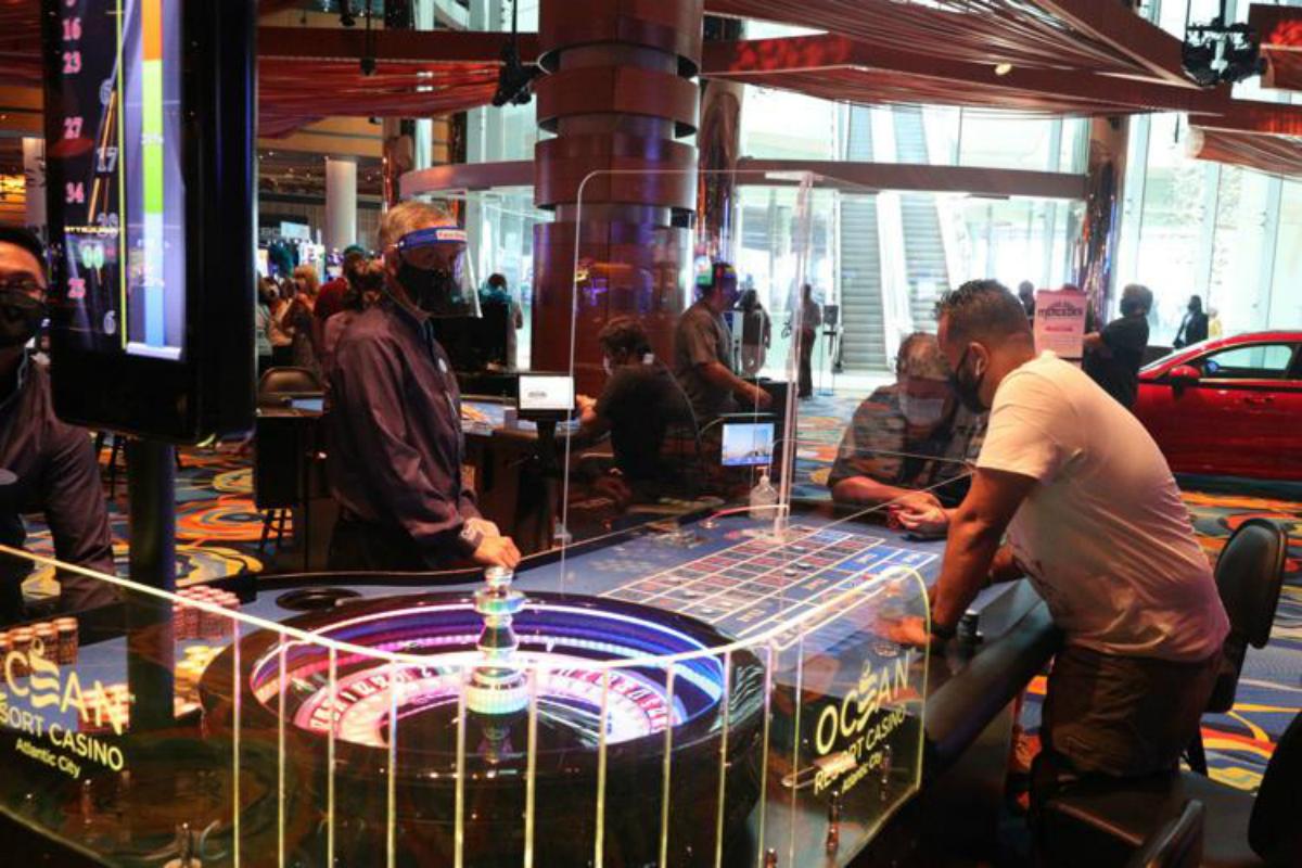 Atlantic City casinos New Jersey Murphy