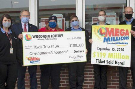 Mega Millions jackpot Wisconsin lottery
