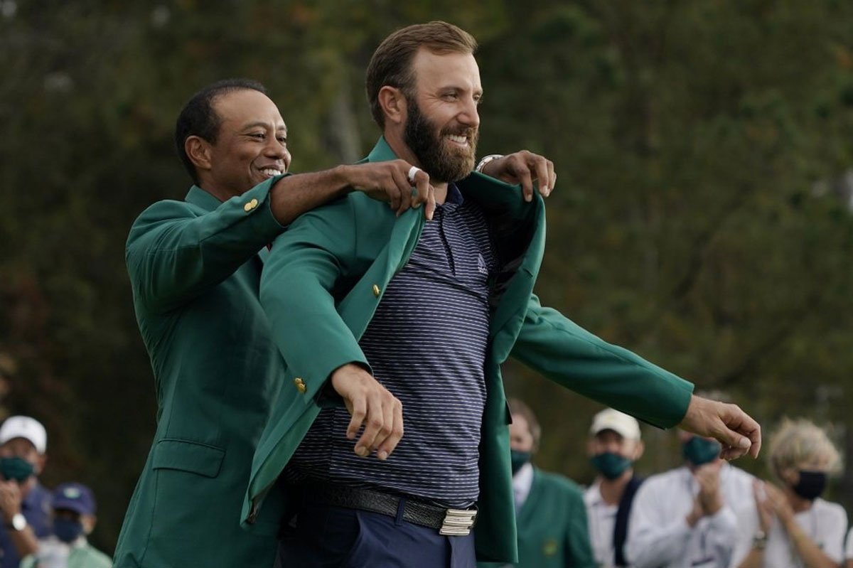Dustin Johnson Masters golf odds