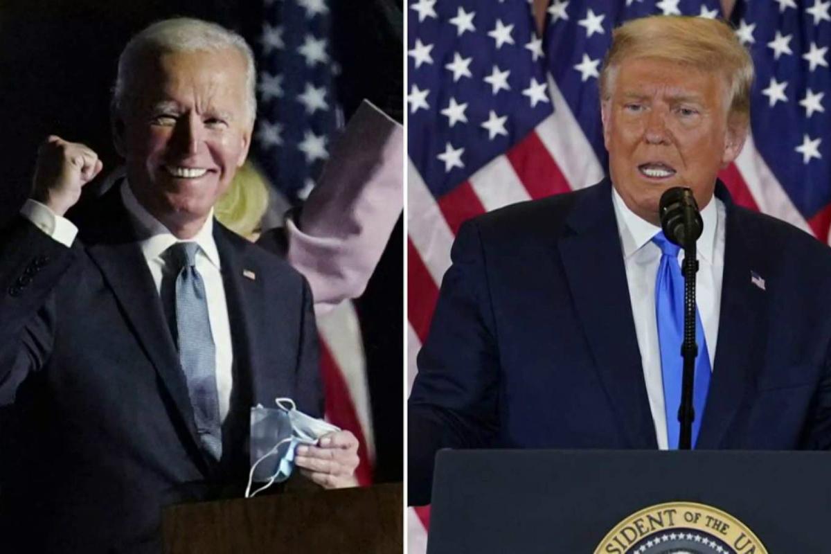 Trump Biden odds election outcome