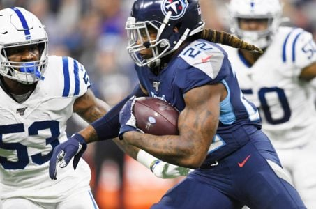 Tennessee Titans RB Derrick Henry