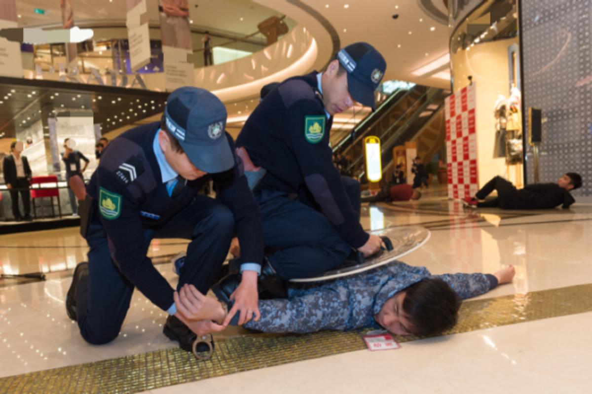 Macau crime police casinos