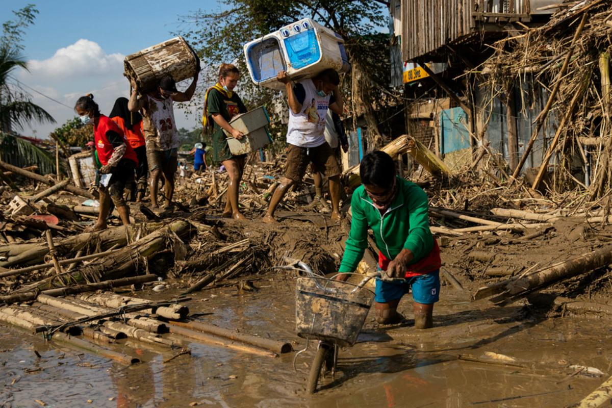 Philippines casinos typhoon Asia