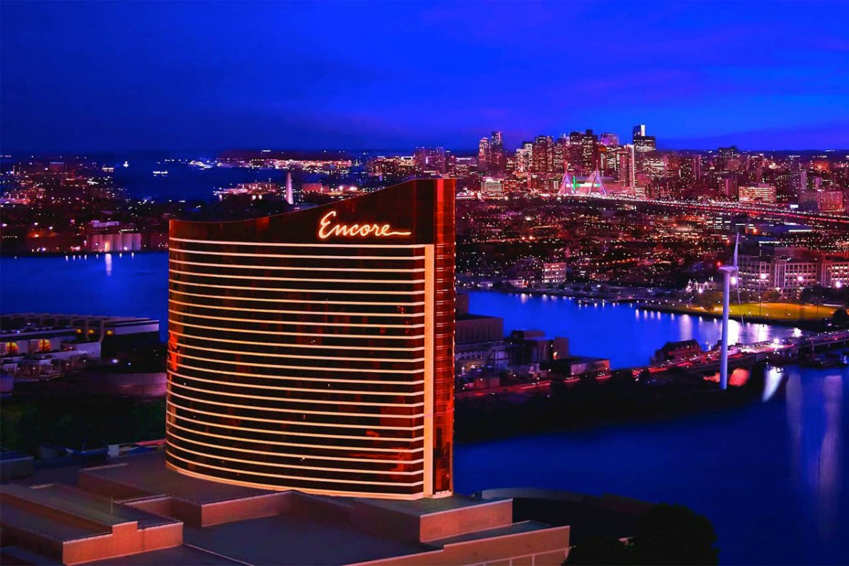Suffolk Downs Wynn Encore Boston Harbor