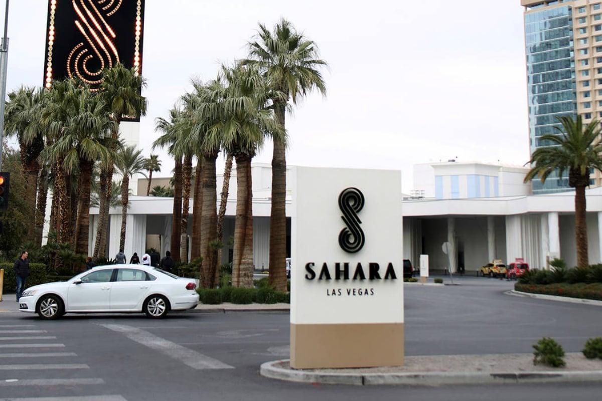 Sahara Las Vegas casino resort 2021