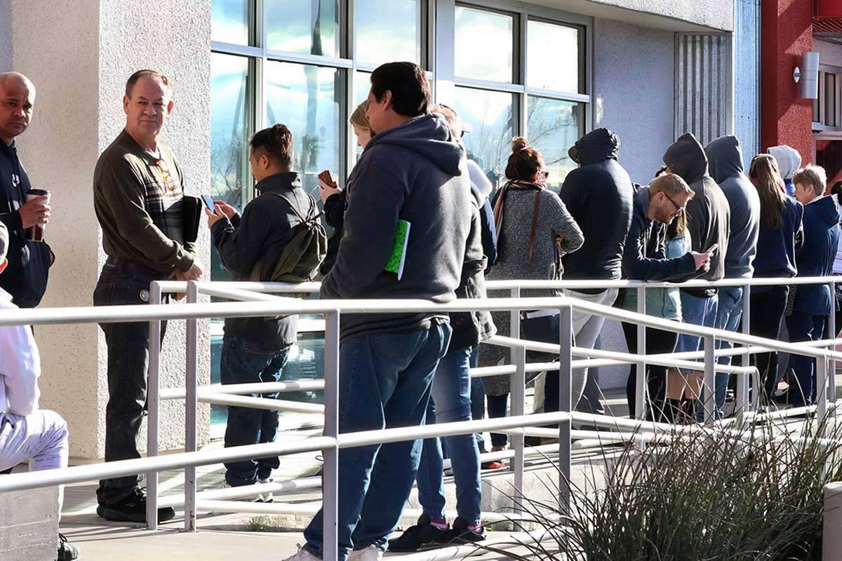 Las Vegas unemployment insurance Nevada