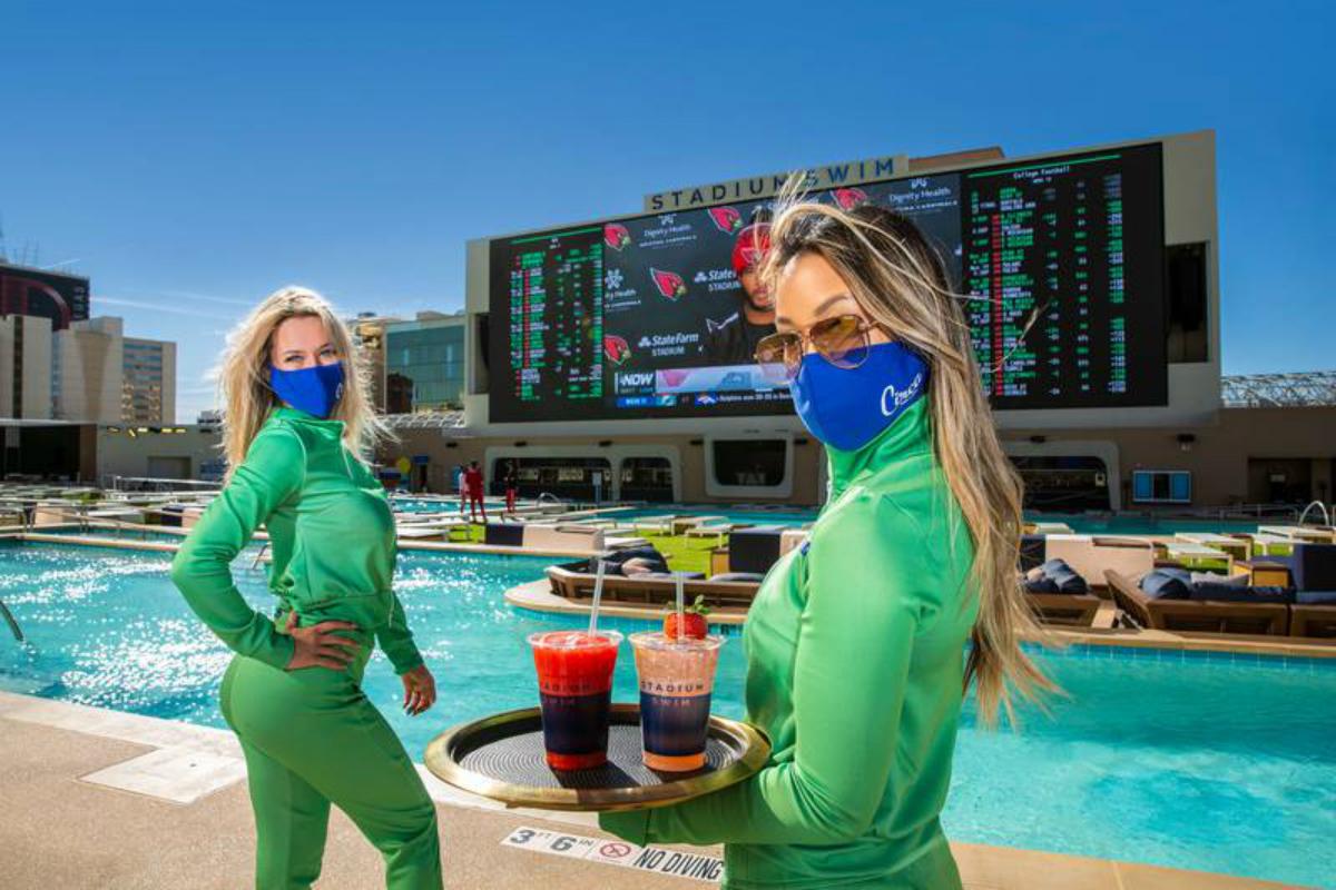 Las Vegas gaming revenue Circa downtown