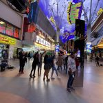 Monolith Pops Up Suddenly on Fremont Street in Downtown Las Vegas