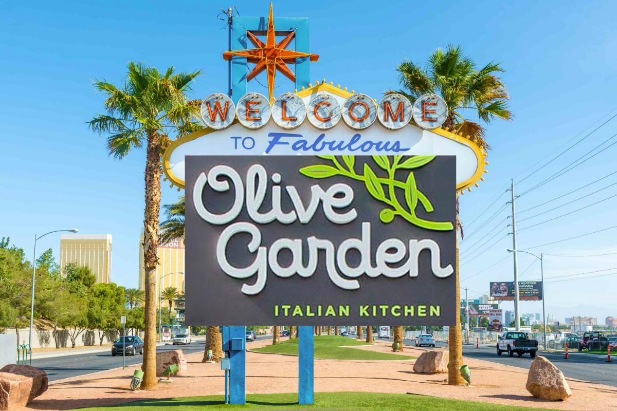 Las Vegas Olive Garden Strip restaurants