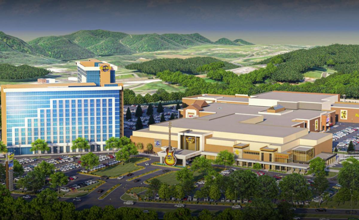 Hard Rock Bristol casino resort Virginia